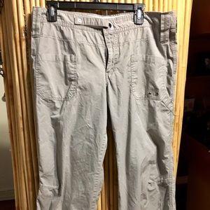 Women's Columbia size 16 khaki light weight pants